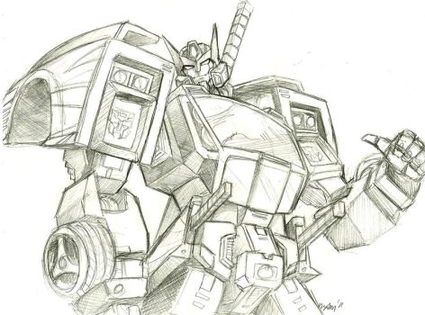 Drift sketch by beamer