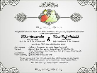 My Wedding's Invitation by Wilpan