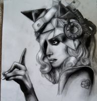 Lady GaGa Telephone by ForeverMissJerri-Kay