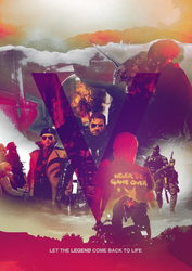 Metal Gear Solid V Poster by iFadeFresh