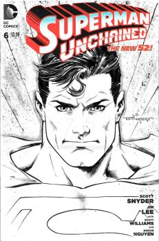 Superman cover by aethibert