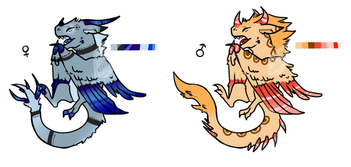 Baby Wyvern Adopts ~[Closed]~ by Blabla247