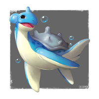 Lapras by Lailamon