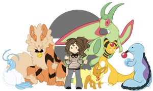 PKMN Trainer Tedi - Team by rlmTedi
