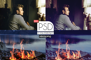 PSD Coloring 031 by vesaspring