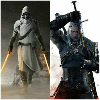 Jedi/Sith or Witcher? by grimmerr