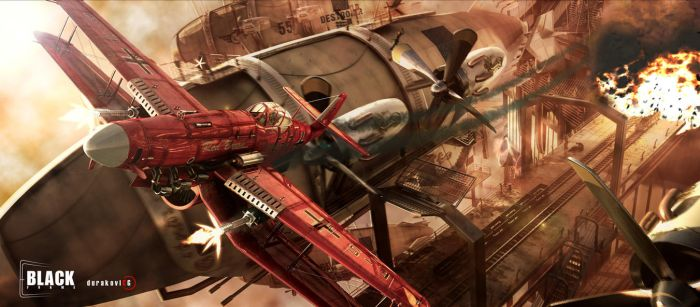 red baron by FriX1981