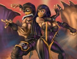 Scorpion and Hellfire - request by Kmany
