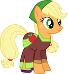 Movie Magic Applejack by CloudyGlow