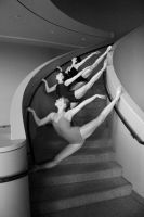 Stairwell by milanophoto