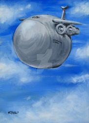 C-5 Galaxy Uhaul of the Sky by wcpope