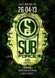 Sub-force-event-1-april-2013-a6-flyer-front by jasonleespruce
