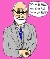 Happy Birthday Freud! by ethicistforhire
