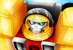 Transformers Armada Hot Shot by Orion-Cross