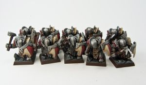 Armored Dwarf Squad by Adhras