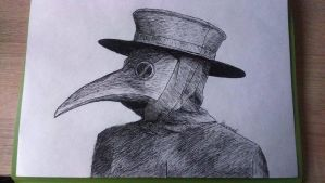 Plague Doctor by Han-Yolo