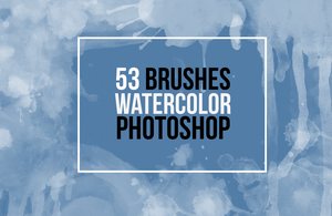 Watercolor Brush Simples by amberbey