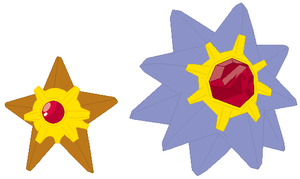 Staryu and Starmie Base