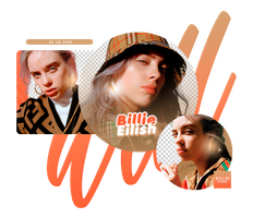 PACK PNG 16 // BILLIE EILISH by BILL3E