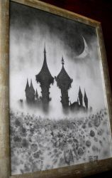 Castles In The Sky 2008 by GregoryGraphiteArt