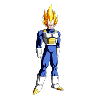 Vegeta Super Saiyan by Dark-Crawler
