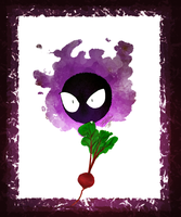 Gastly With A Beet