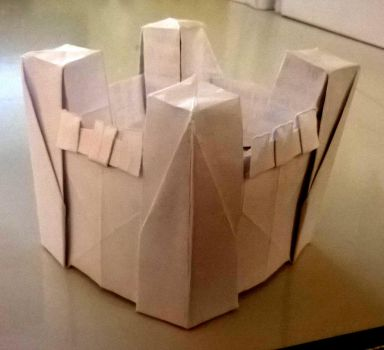 Small origami castle 3 by WilliamClinch