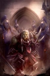 Saurfang's Capture by TheEchoDragon