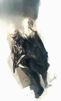 Solid and Liquid by Benlo