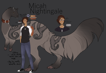 handler | Micah Nightingale by Nerryn