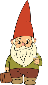 The traveling gnome from Amelie Poulain by LohranRocha