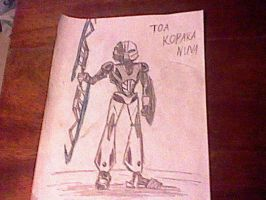 Toa Kopaka Nuva Fan art by Taqresu650