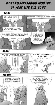 Question 13: Most embarrassing moments? by JamieDeJonge