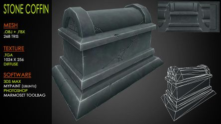Stone Coffin by Yughues