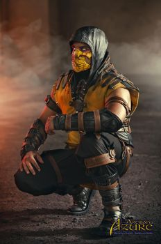 Scorpion Mortal Kombat X Cosplay 2 by ArtisansdAzure