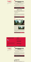 1315 MELANCHOLY HANDS // FREE BLOGGER TEMPLATE by grabarze