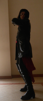 Throwing Knifes! || Evie Frye cosplay by vanessa-sonic
