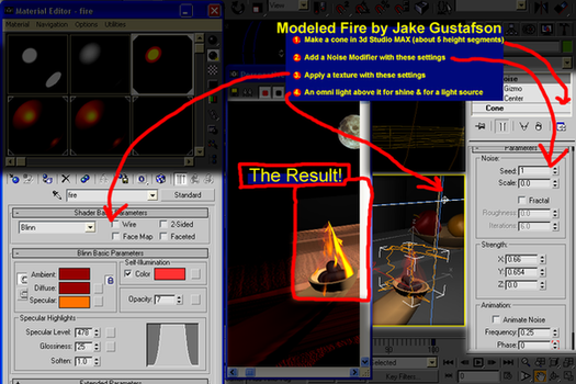 3ds Max Quicky Fire Tutorial by ResultsOfMonopoly