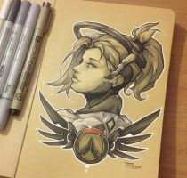 Mercy - Overwatch by Totemos