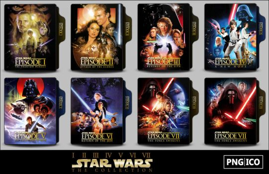 Star Wars Collection Folder Icons by OnlyStyleMatters