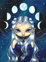 Fairy of the Changing Moons by jasminetoad
