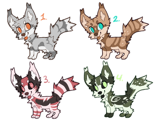 Adoptable Dogs 16 (Closed) by 5TARF0X