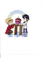 Trigun B-day by RemAurion