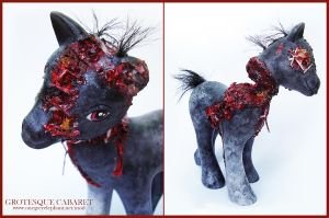 My Little Zombie Pony by onegreyelephant