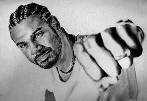 David Haye by Ray-Clark