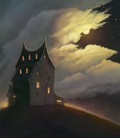 The Red House by SmallJoy