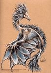 Floral Smaugust - Cornflower by ShadeofShinon