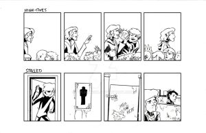'Tall' Comic Strips 9 and 10 by Polartech