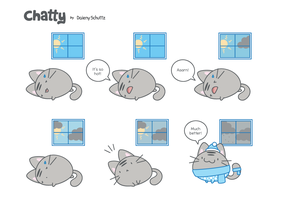 Chatty #09 by Daieny