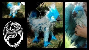OOAK Handmade Poseable Griffin - SOLD by SonsationalCreations